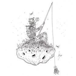 Fisherman by DrawingDreamer1