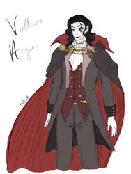 the londonian vampire, voltaire aryuni by astra-magicka