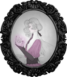 the little witch by astra-magicka