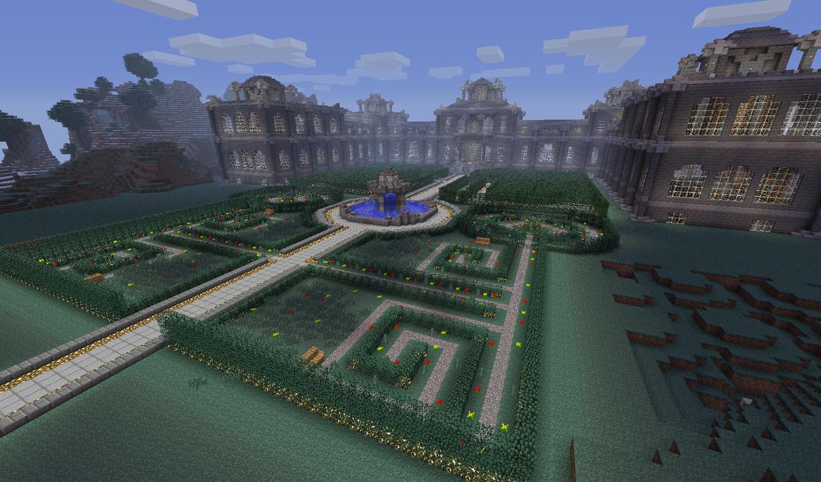 Updated Palace Grounds by Retsinab