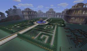 Updated Palace Grounds by Retsinab