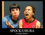 SpockXUhura Demotivational