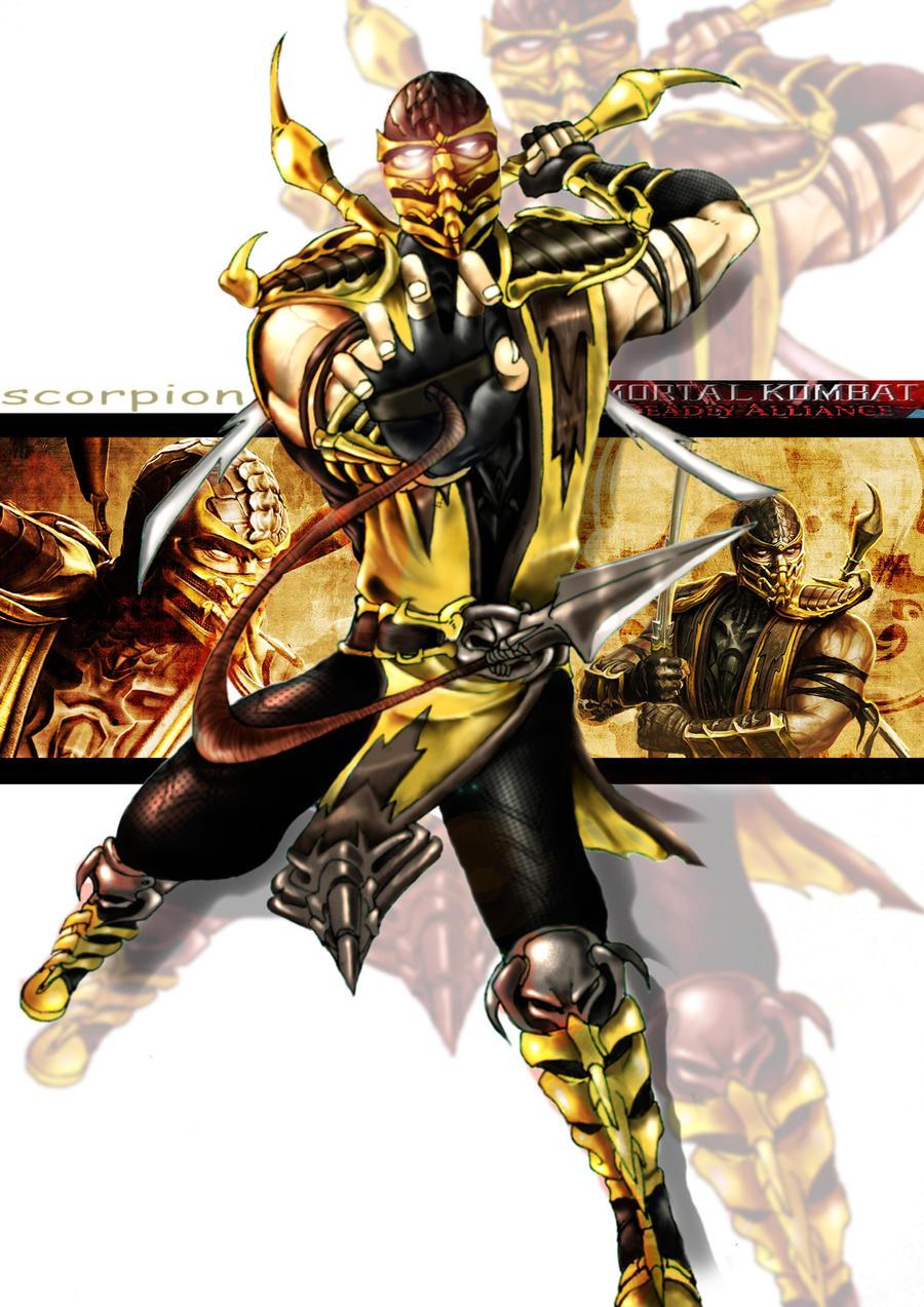 MK9 scorpion by gothicmalam91 on DeviantArt