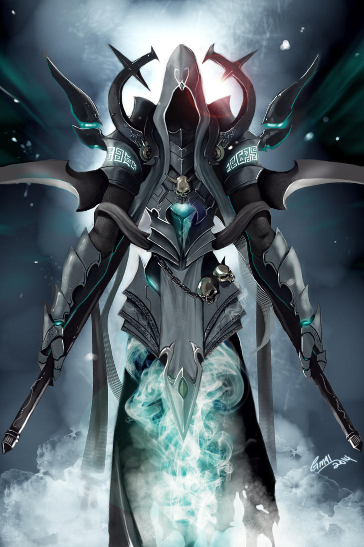 the new Malthael by gothicmalam91