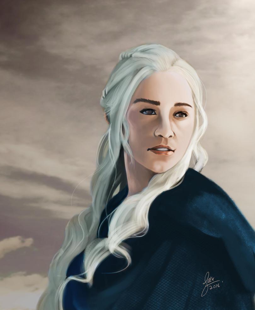 khaleesi game of throne by gothicmalam91