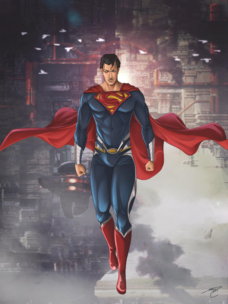 MAN OF STEEL by gothicmalam91