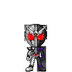Kamen Rider W Fang Joker by robinosuke