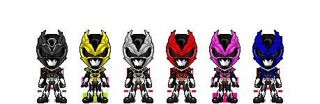Jaden Sentai Nejiranger by robinosuke