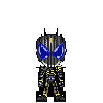 Kamen Rider Dark Decade by robinosuke