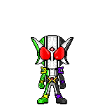 Kamen Rider W Cyclone Joker Xtreme by robinosuke
