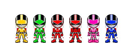 Mirai Sentai Timeranger by robinosuke