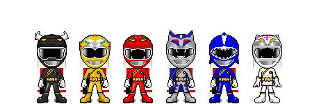 Hyakujuu Sentai Gaoranger by robinosuke