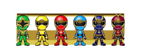 Ninpuu Sentai Hurricanger by robinosuke