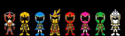 Mahou Sentai Magiranger by robinosuke