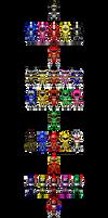 Super Rangers!!! by robinosuke