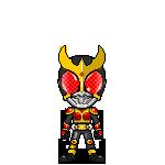 Kamen Rider Kuuga Rising Mighty Form by robinosuke