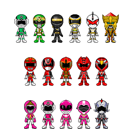 Other Reversed Gokai Changes by robinosuke