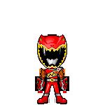 Kyoryu Red W Armed On by robinosuke