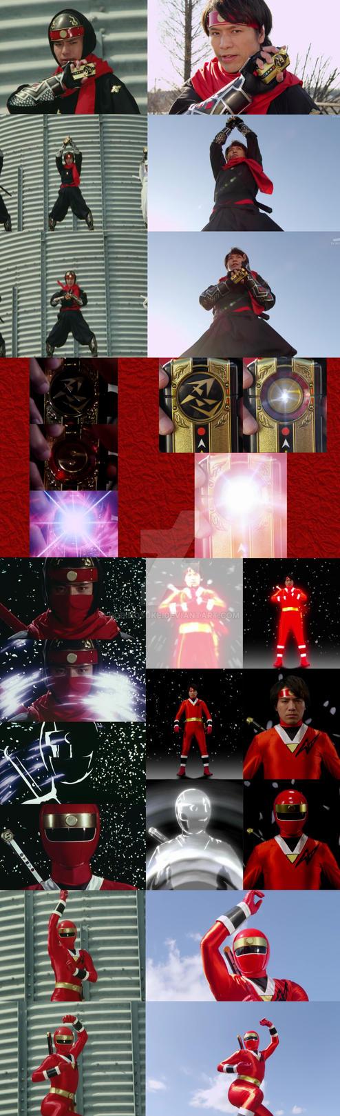 Ninja Red 21 Years After by robinosuke