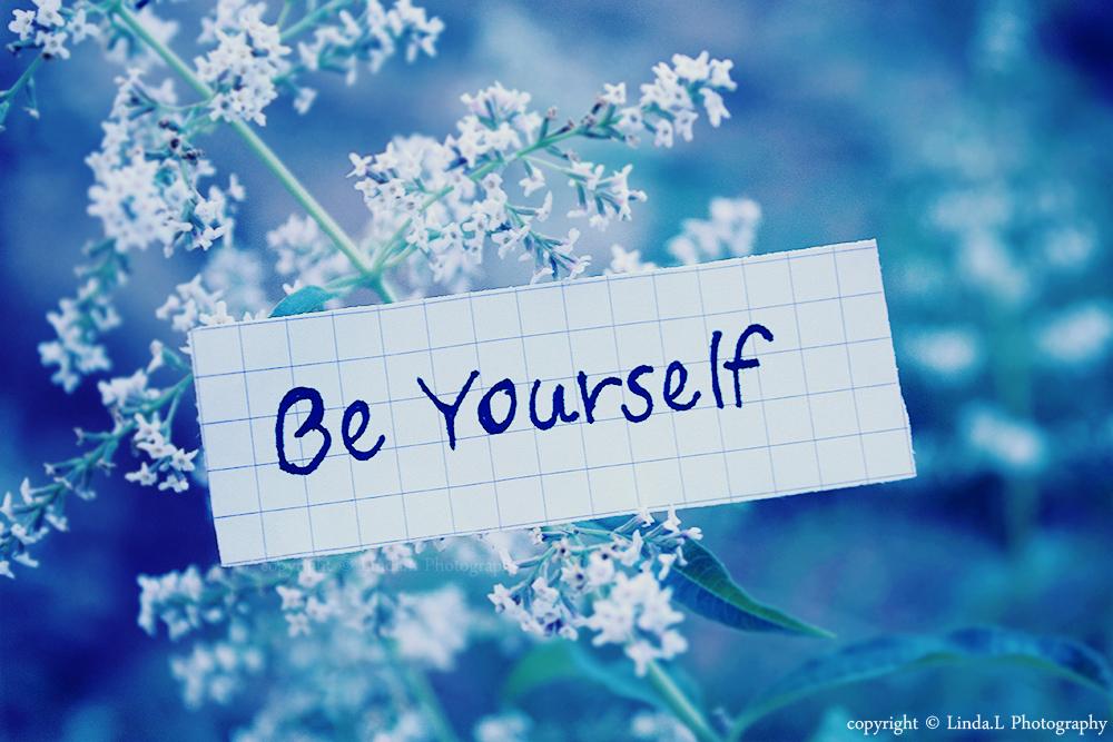 be yourself by lindahabiba