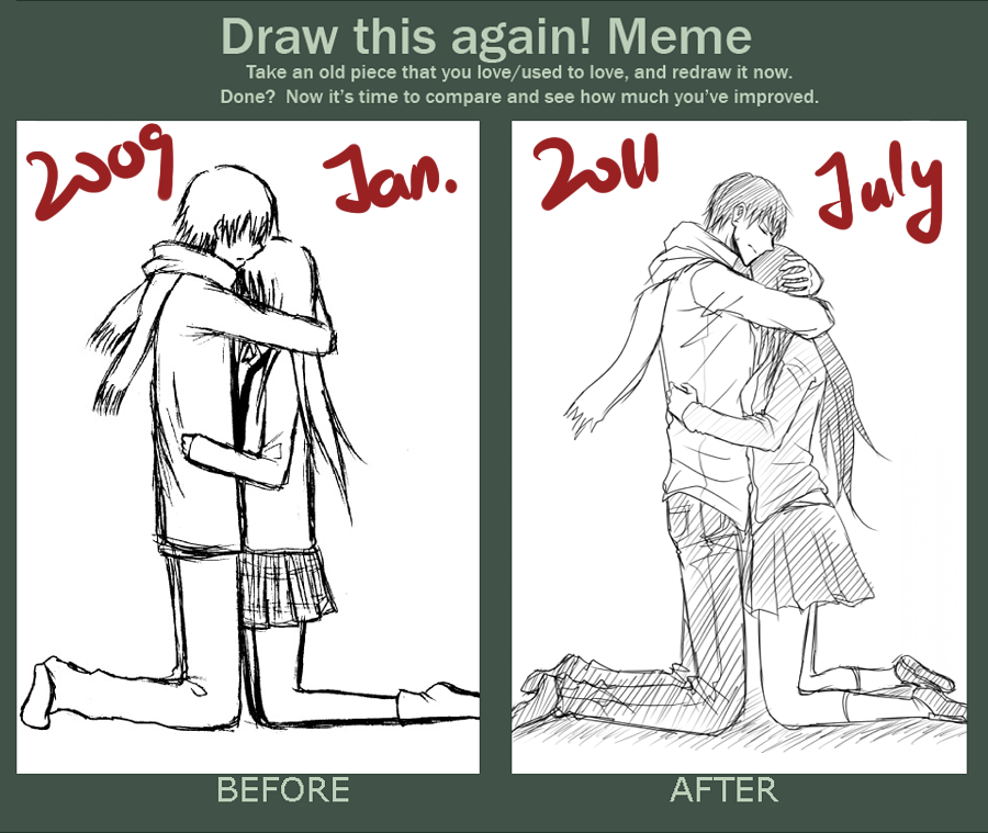 Draw it again meme by minghii