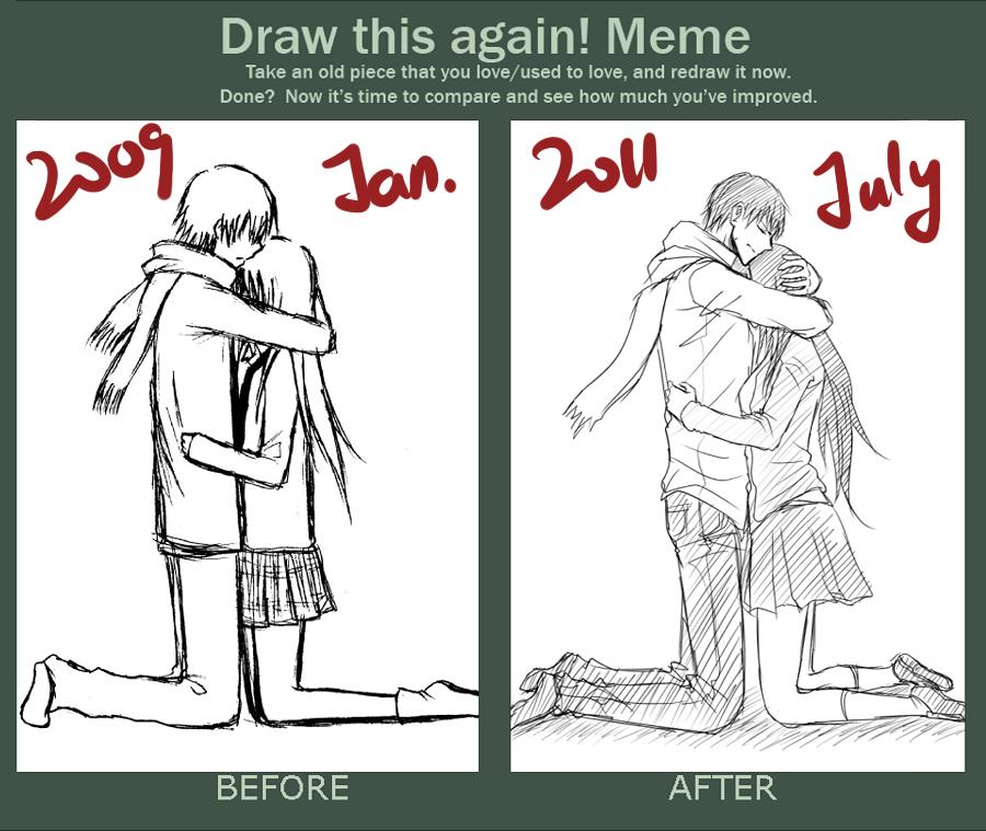 Draw it again meme by minghii