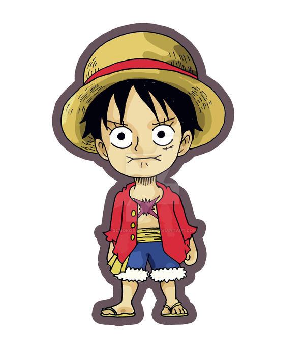 Chibi Monkey D. Luffy By Xchokoxotakux On DeviantArt