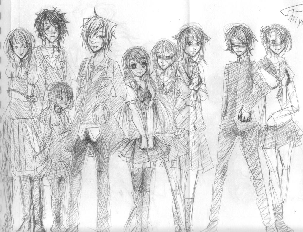 My Character Designing by MiyukiKuran