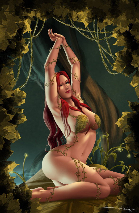 Poison Ivy - Morning Stretch by iurypadilha