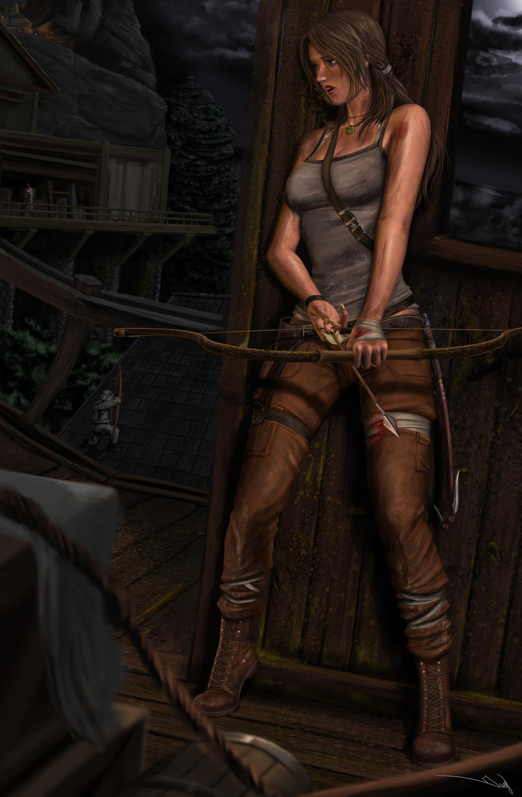 Tomb Raider Reborn Contest by iurypadilha