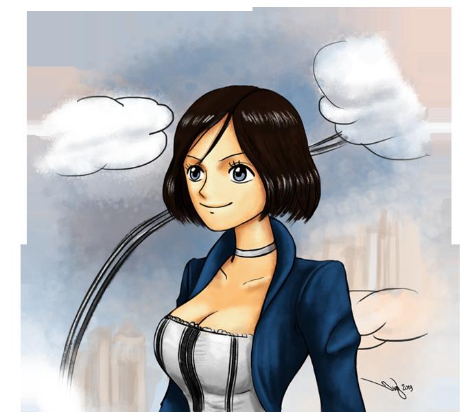 Elizabeth - Oda Style by iurypadilha