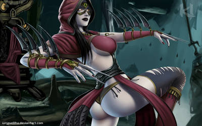 Killer Instinct: Sadira by iurypadilha