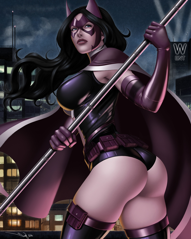 Gotham Girls: Huntress by iurypadilha