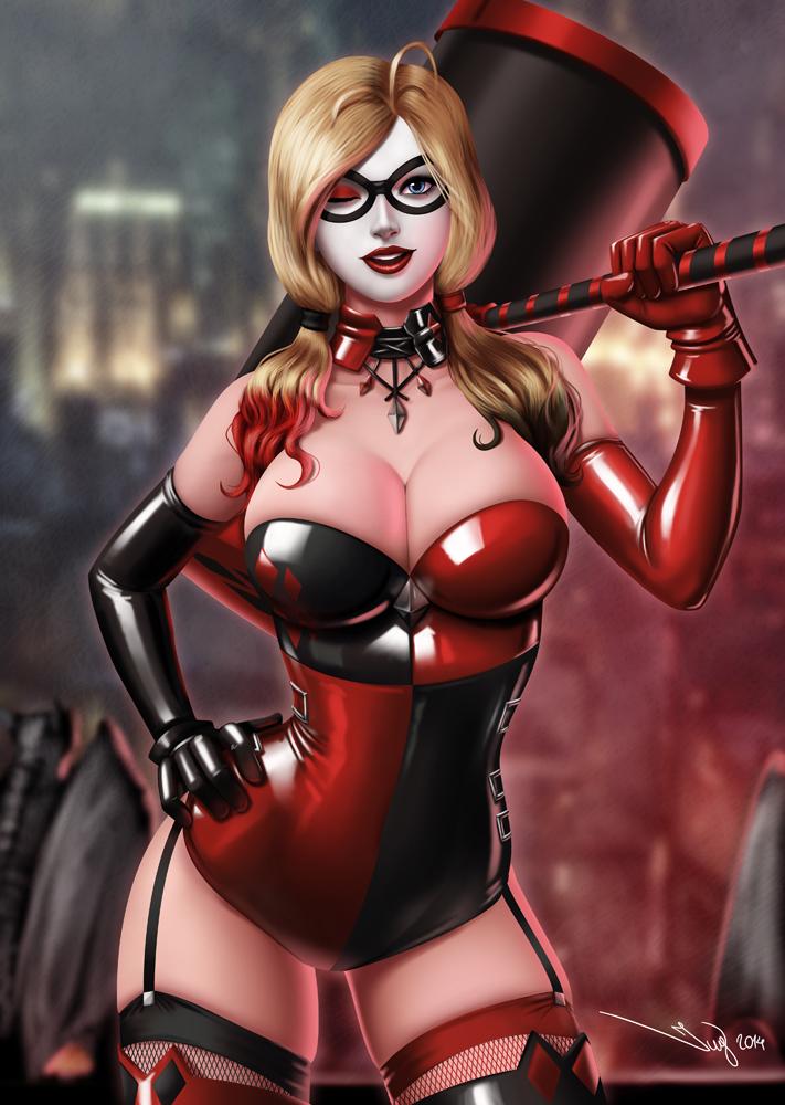 Gotham Girls: Harley Quinn by iurypadilha