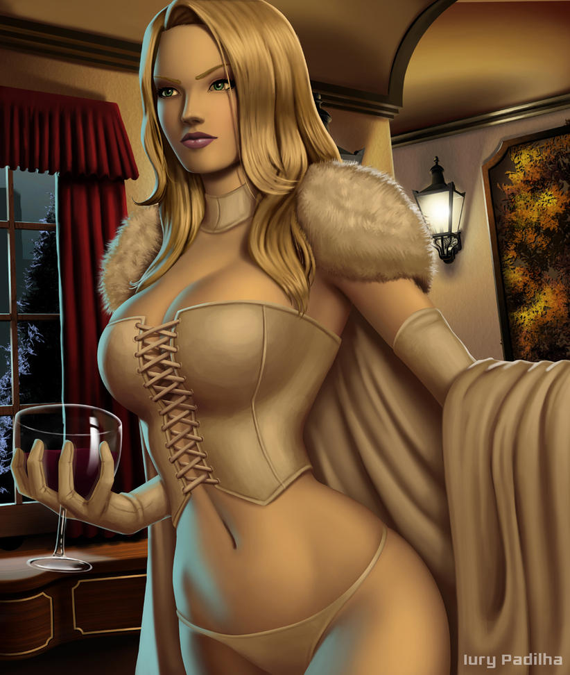 Emma Frost 2015 by iurypadilha