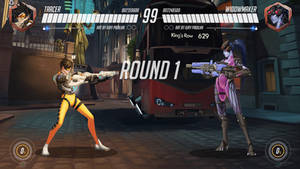 Overwatch Fighting Game: Round 1 by iurypadilha