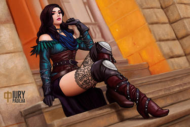 The Witcher: Yennefer by iurypadilha