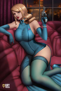 Samus Aran Noir (NSFW Available)