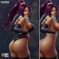 Bleach:Yoruichi now with NSFW