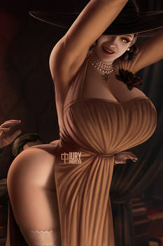 RE Village: Lady Dimitrescu (nsfw included)
