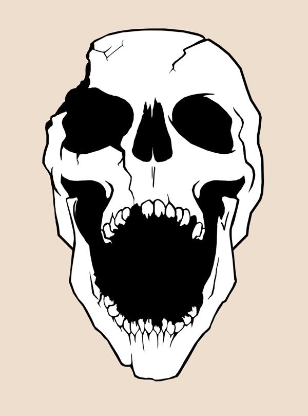 laughing skull by the33rdrune on deviantart. Black Bedroom Furniture Sets. Home Design Ideas