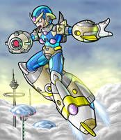 Megaman ULTIMATE by carra