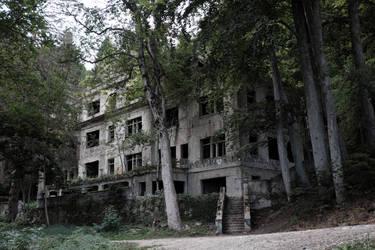 Old hospital, Zagreb by frenky666