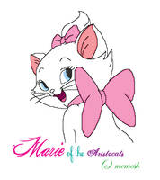 Marie of Aristocats by aiedalelove