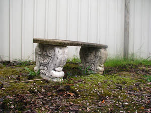 Object Stock - Stone Chair 01.