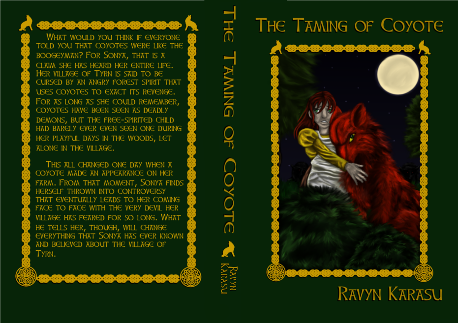 The Taming of Coyote - Full Cover by Ravyn-Karasu