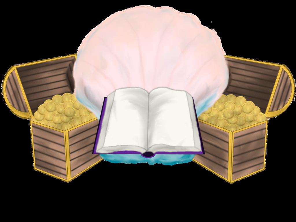 Books Are Treasures Logo by Ravyn-Karasu