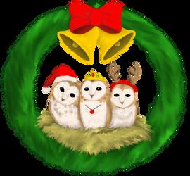 Christmas Owls - 2019