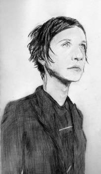 Brian Molko Sketch
