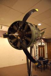 Adamance, B-17 Port Engine 04 by nosurprises